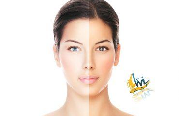 آموزش برنزه شدن صورت و بدن
