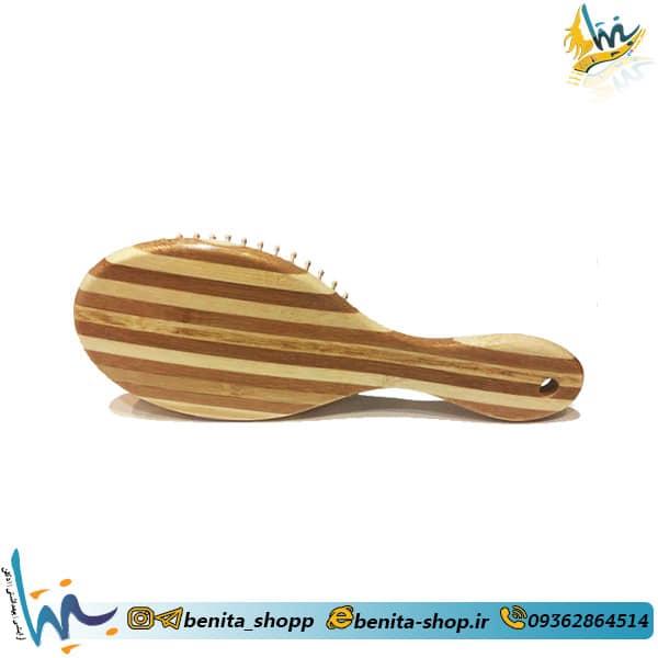برس چوبی بامبو نوک گرد نارسیس