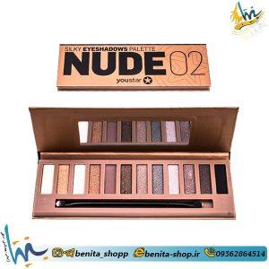 سایه چشم 12 رنگ نود (Nude) شماره 2
