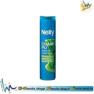 شامپو مخصوص موی فر و مجعد نلی Nelly
